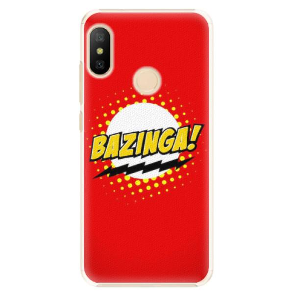 Plastové pouzdro iSaprio - Bazinga 01 - Xiaomi Mi A2 Lite