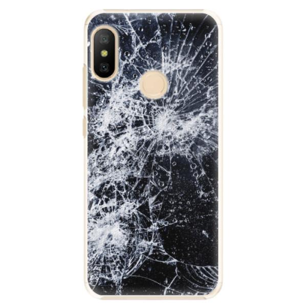 Plastové pouzdro iSaprio - Cracked - Xiaomi Mi A2 Lite