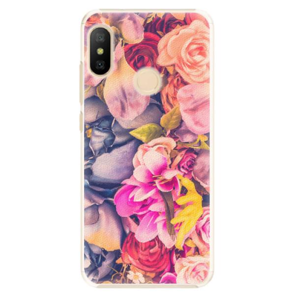 Plastové pouzdro iSaprio - Beauty Flowers - Xiaomi Mi A2 Lite