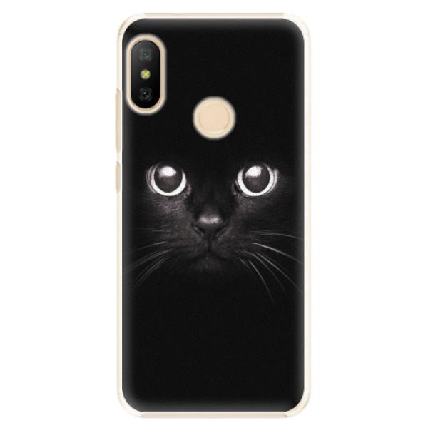 Plastové pouzdro iSaprio - Black Cat - Xiaomi Mi A2 Lite