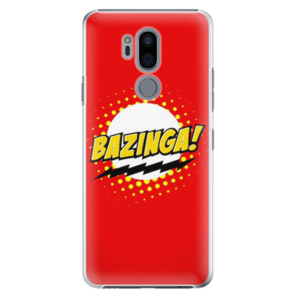 Plastové pouzdro iSaprio - Bazinga 01 - LG G7