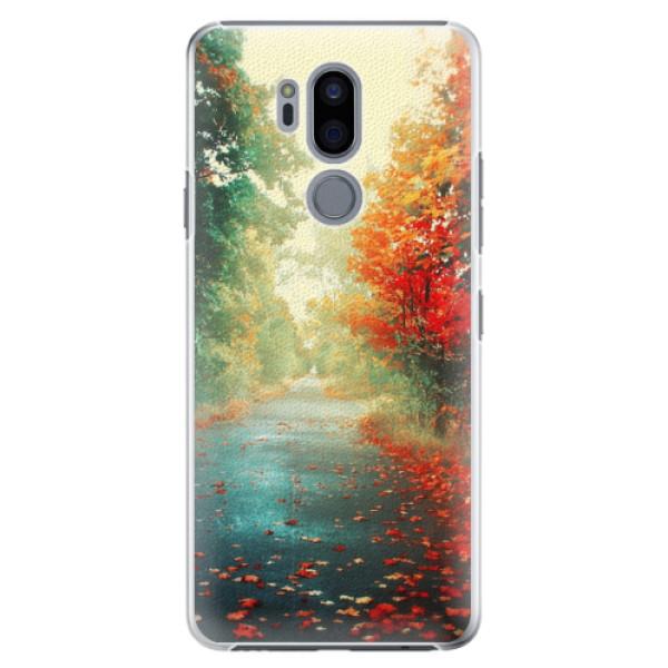 Plastové pouzdro iSaprio - Autumn 03 - LG G7