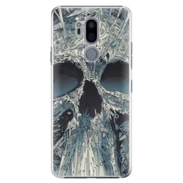 Plastové pouzdro iSaprio - Abstract Skull - LG G7