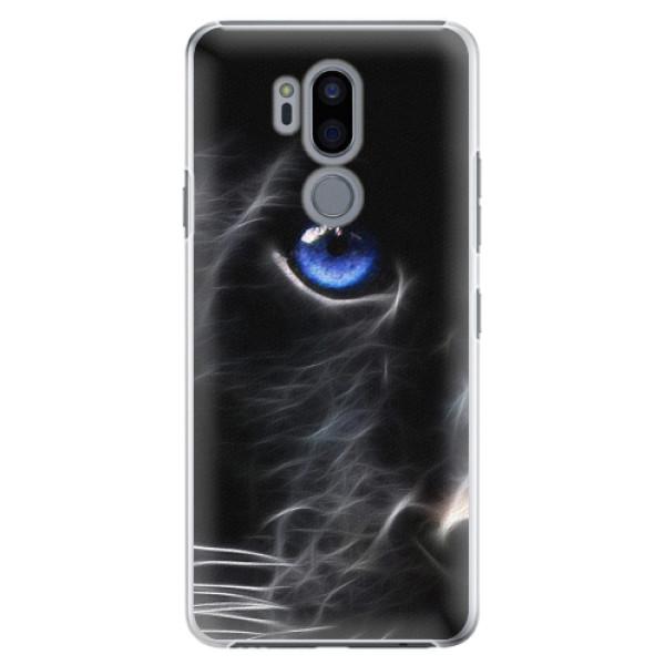 Plastové pouzdro iSaprio - Black Puma - LG G7