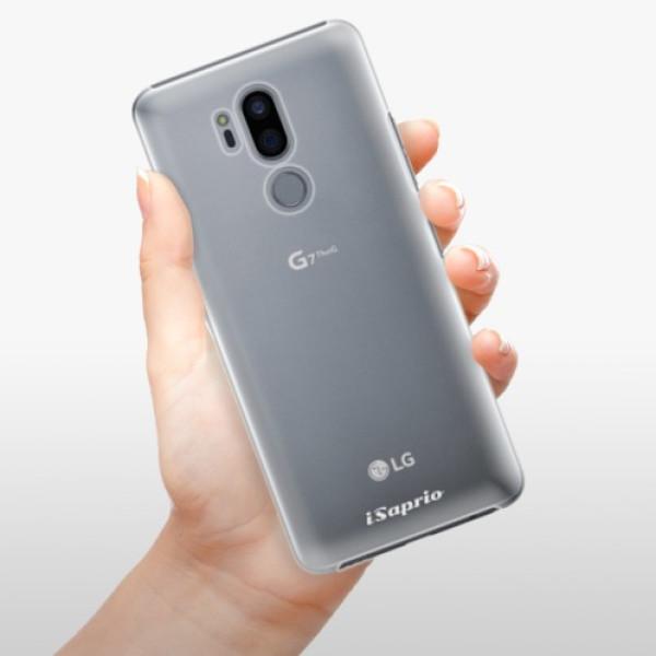 Plastové pouzdro iSaprio - 4Pure - mléčný bez potisku - LG G7