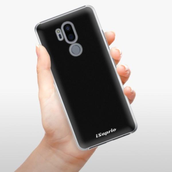 Plastové pouzdro iSaprio - 4Pure - černý - LG G7