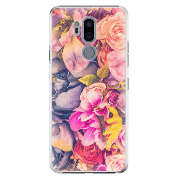 Plastové pouzdro iSaprio - Beauty Flowers - LG G7