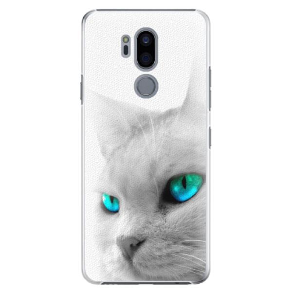 Plastové pouzdro iSaprio - Cats Eyes - LG G7