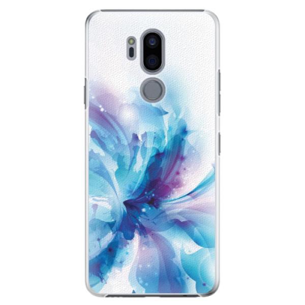 Plastové pouzdro iSaprio - Abstract Flower - LG G7