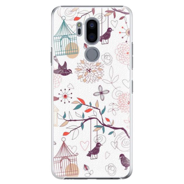 Plastové pouzdro iSaprio - Birds - LG G7