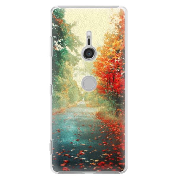 Plastové pouzdro iSaprio - Autumn 03 - Sony Xperia XZ3
