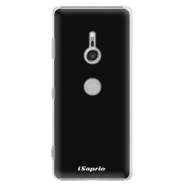 Plastové pouzdro iSaprio - 4Pure - černý - Sony Xperia XZ3