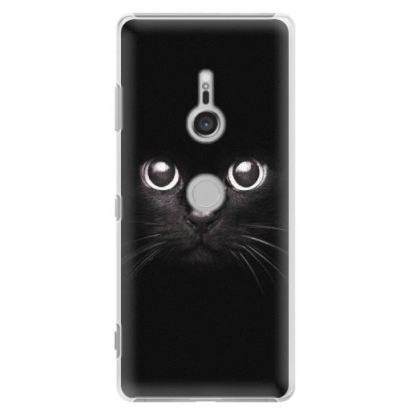 Plastové pouzdro iSaprio - Black Cat - Sony Xperia XZ3