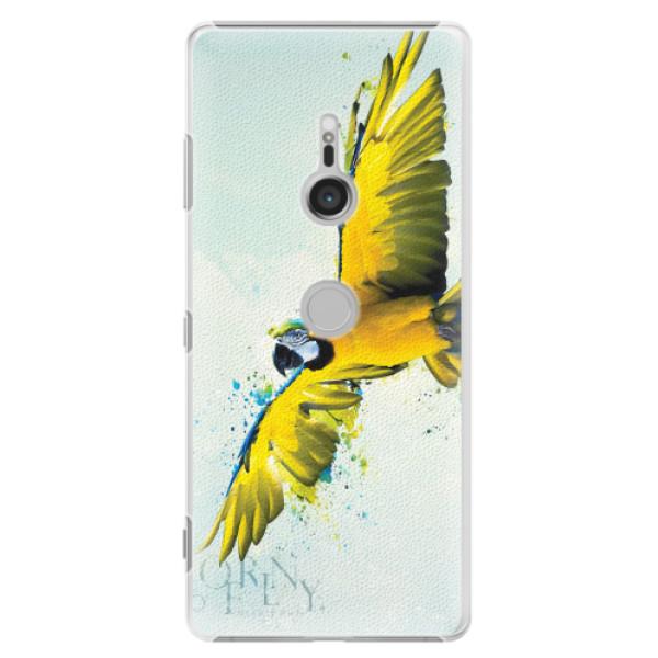 Plastové pouzdro iSaprio - Born to Fly - Sony Xperia XZ3