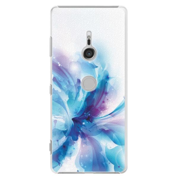 Plastové pouzdro iSaprio - Abstract Flower - Sony Xperia XZ3
