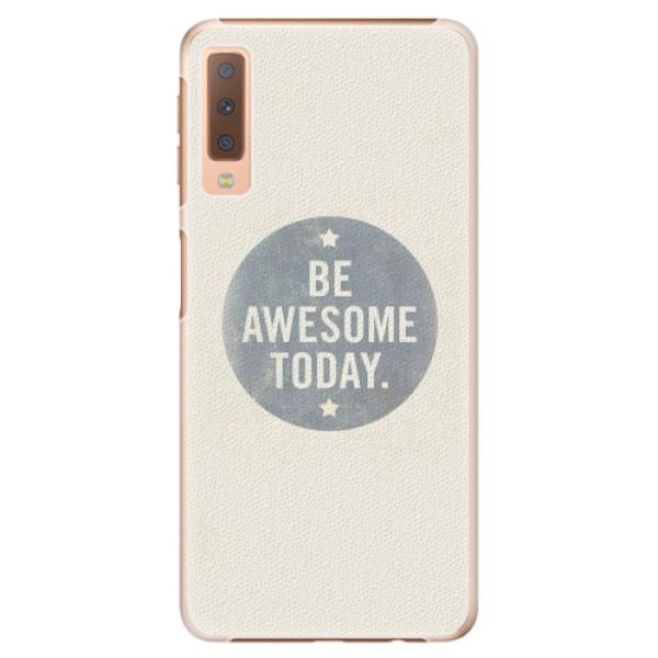 Plastové pouzdro iSaprio - Awesome 02 - Samsung Galaxy A7 (2018)