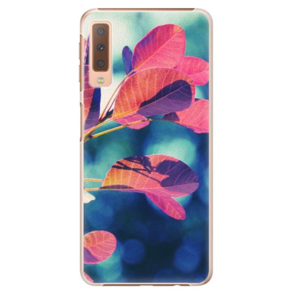 Plastové pouzdro iSaprio - Autumn 01 - Samsung Galaxy A7 (2018)