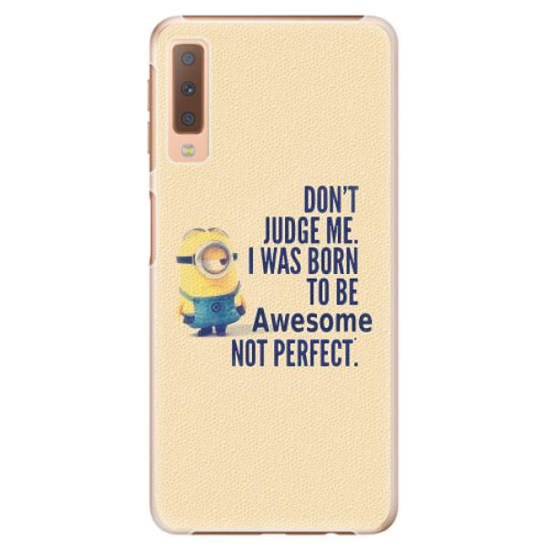 Plastové pouzdro iSaprio - Be Awesome - Samsung Galaxy A7 (2018)