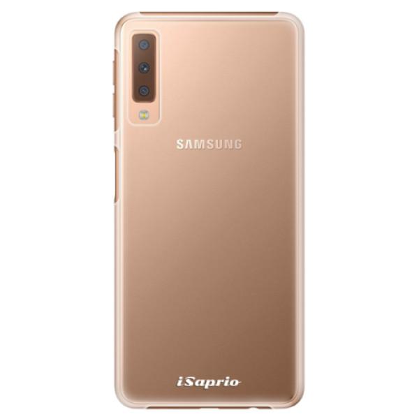 Plastové pouzdro iSaprio - 4Pure - mléčný bez potisku - Samsung Galaxy A7 (2018)