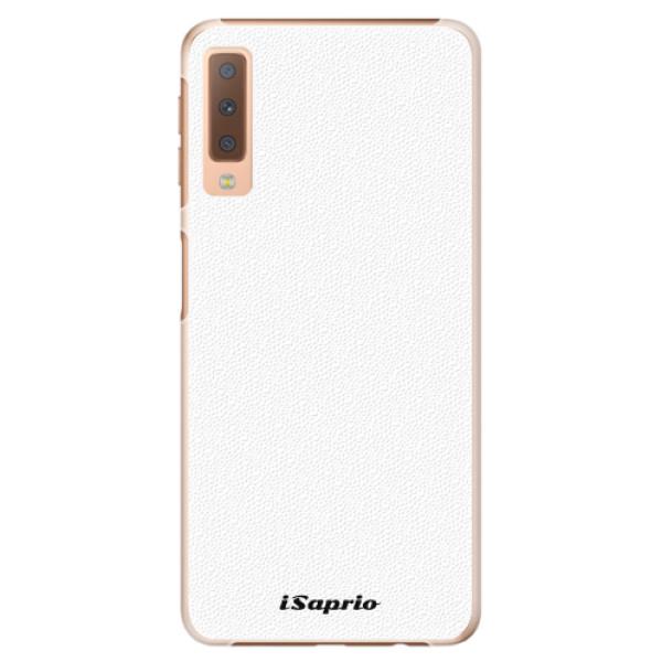 Plastové pouzdro iSaprio - 4Pure - bílý - Samsung Galaxy A7 (2018)