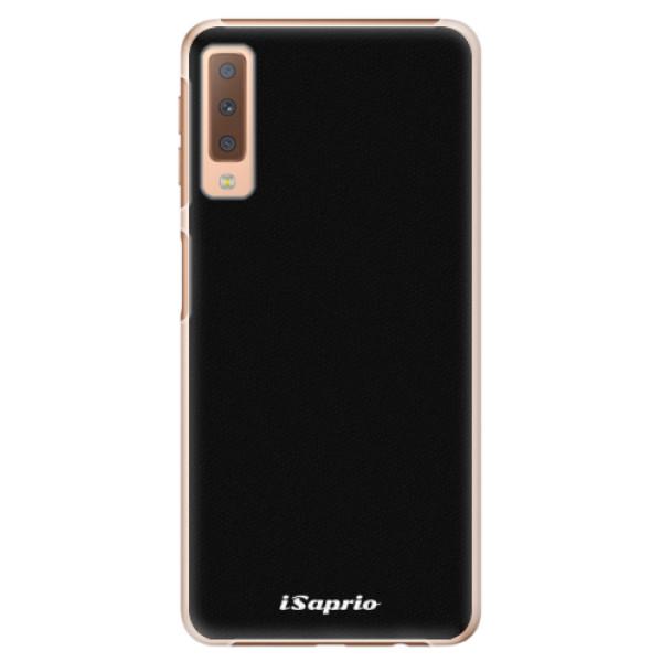 Plastové pouzdro iSaprio - 4Pure - černý - Samsung Galaxy A7 (2018)