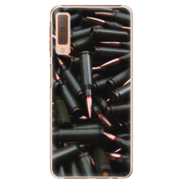 Plastové pouzdro iSaprio - Black Bullet - Samsung Galaxy A7 (2018)