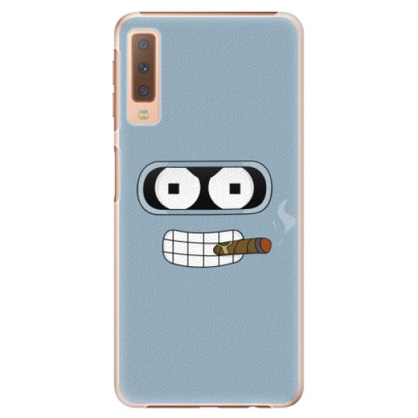 Plastové pouzdro iSaprio - Bender - Samsung Galaxy A7 (2018)