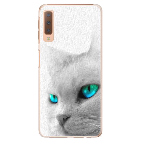 Plastové pouzdro iSaprio - Cats Eyes - Samsung Galaxy A7 (2018)