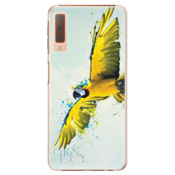 Plastové pouzdro iSaprio - Born to Fly - Samsung Galaxy A7 (2018)