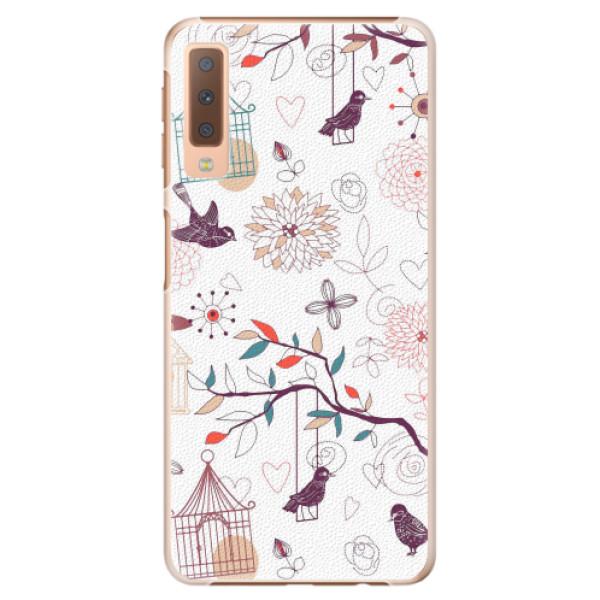 Plastové pouzdro iSaprio - Birds - Samsung Galaxy A7 (2018)