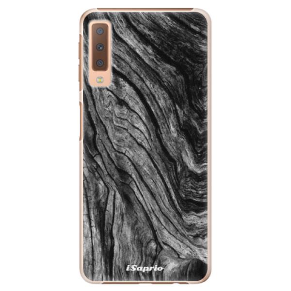 Plastové pouzdro iSaprio - Burned Wood - Samsung Galaxy A7 (2018)