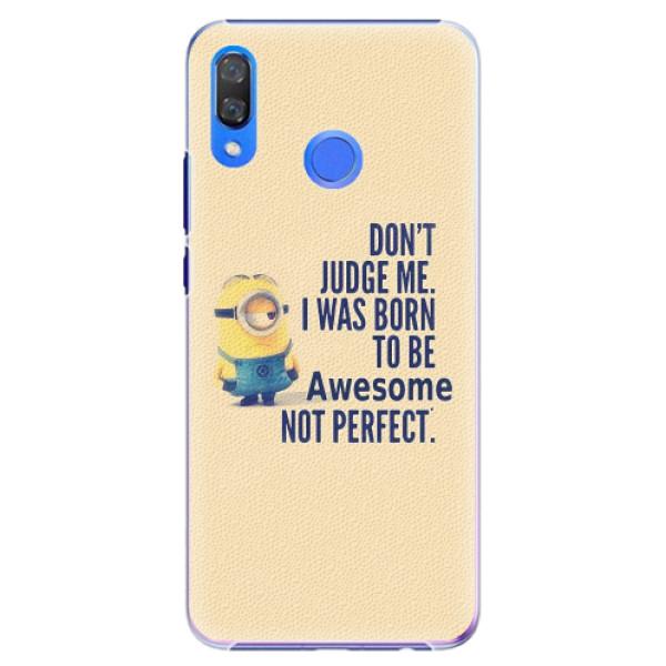 Plastové pouzdro iSaprio - Be Awesome - Huawei Y9 2019