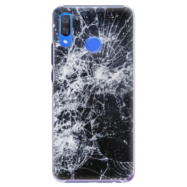 Plastové pouzdro iSaprio - Cracked - Huawei Y9 2019