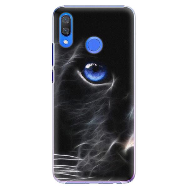 Plastové pouzdro iSaprio - Black Puma - Huawei Y9 2019