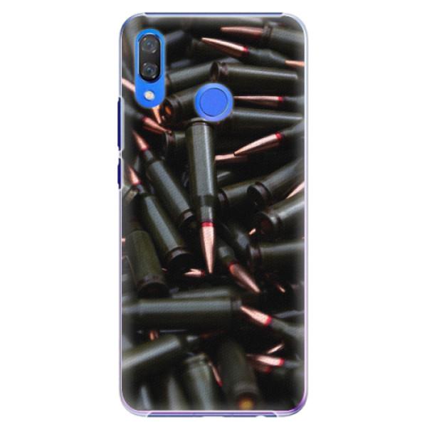 Plastové pouzdro iSaprio - Black Bullet - Huawei Y9 2019