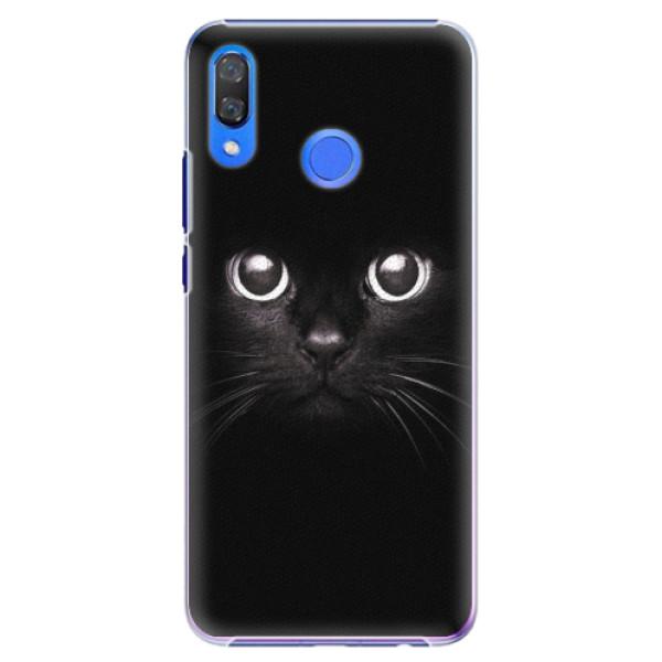 Plastové pouzdro iSaprio - Black Cat - Huawei Y9 2019