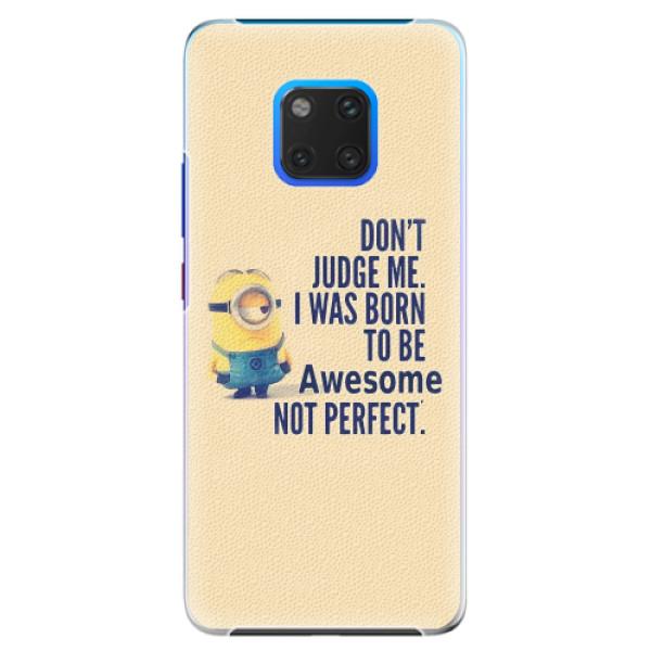 Plastové pouzdro iSaprio - Be Awesome - Huawei Mate 20 Pro