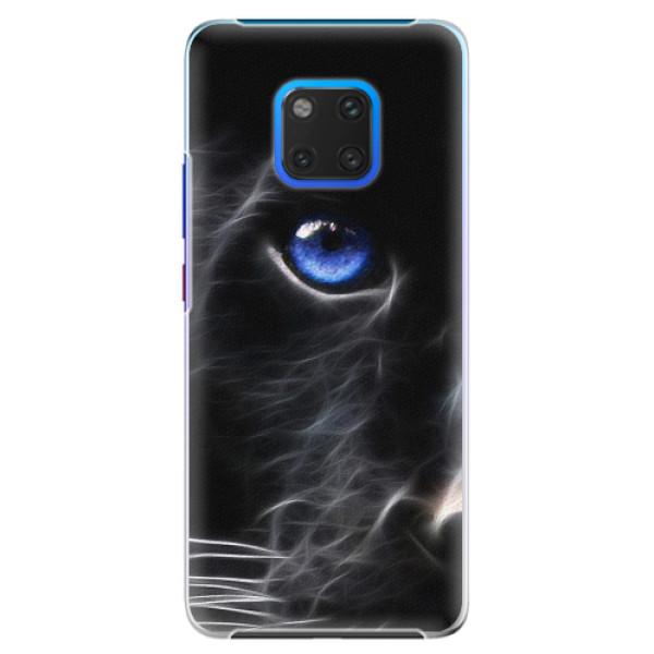 Plastové pouzdro iSaprio - Black Puma - Huawei Mate 20 Pro