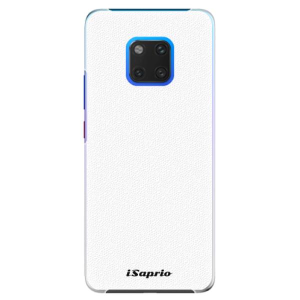 Plastové pouzdro iSaprio - 4Pure - bílý - Huawei Mate 20 Pro
