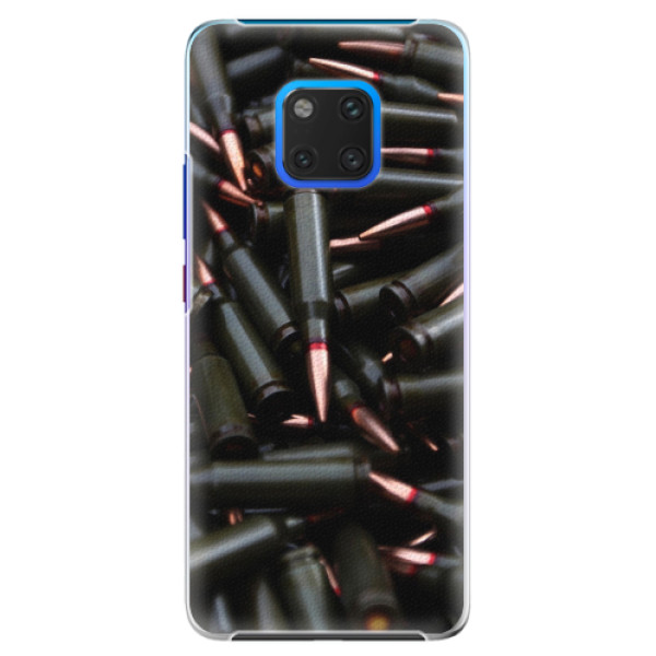 Plastové pouzdro iSaprio - Black Bullet - Huawei Mate 20 Pro