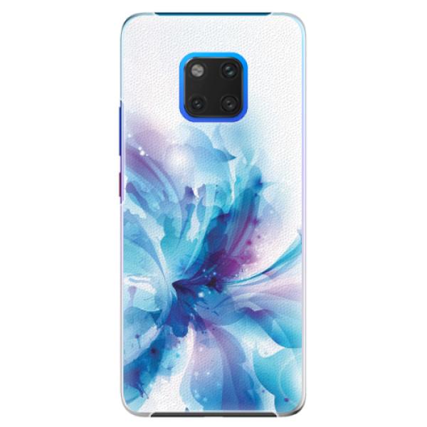 Plastové pouzdro iSaprio - Abstract Flower - Huawei Mate 20 Pro