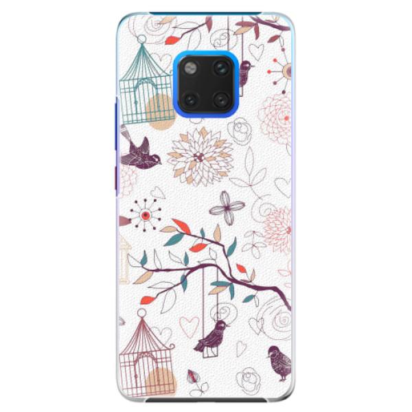 Plastové pouzdro iSaprio - Birds - Huawei Mate 20 Pro