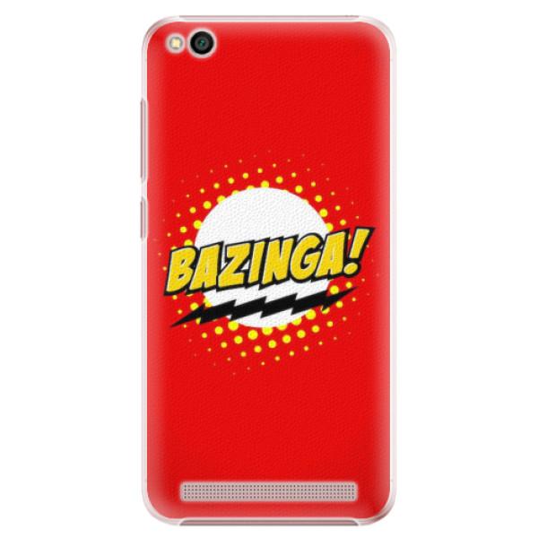 Plastové pouzdro iSaprio - Bazinga 01 - Xiaomi Redmi 5A