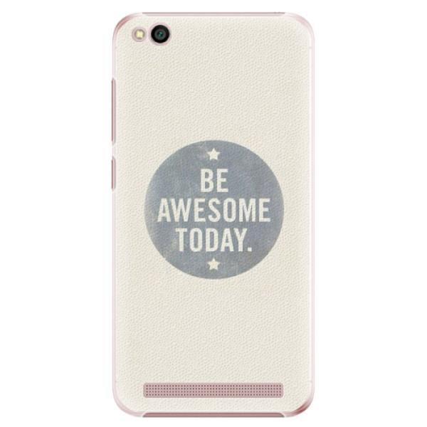 Plastové pouzdro iSaprio - Awesome 02 - Xiaomi Redmi 5A