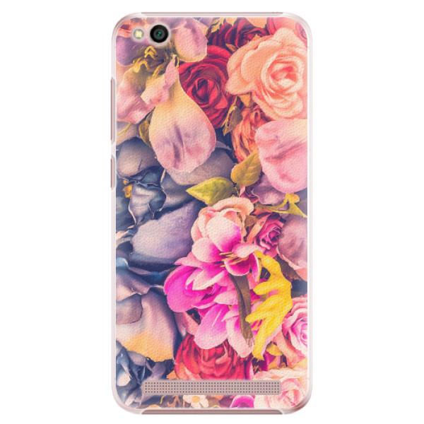 Plastové pouzdro iSaprio - Beauty Flowers - Xiaomi Redmi 5A