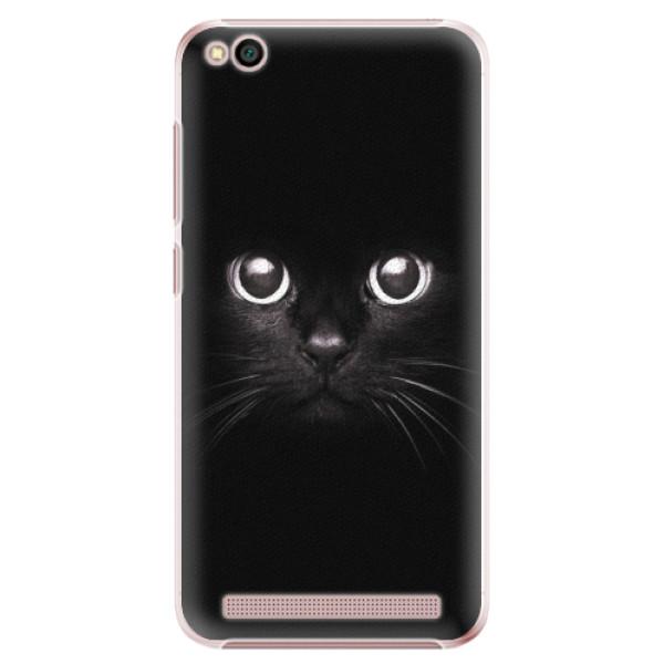 Plastové pouzdro iSaprio - Black Cat - Xiaomi Redmi 5A
