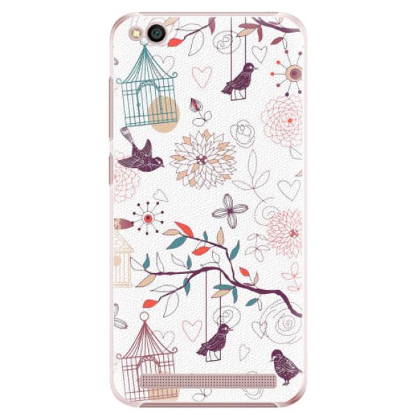 Plastové pouzdro iSaprio - Birds - Xiaomi Redmi 5A