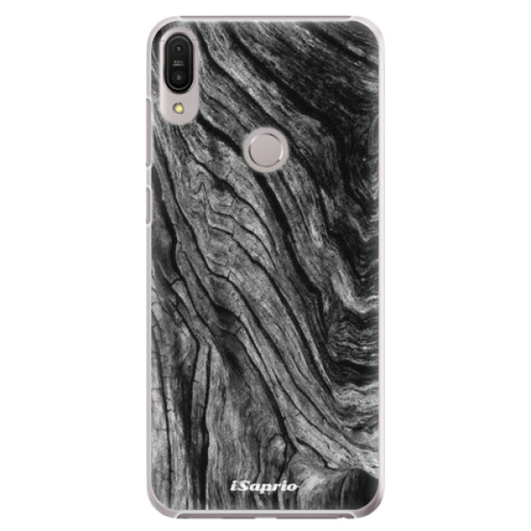 Plastové pouzdro iSaprio - Burned Wood - Asus Zenfone Max Pro ZB602KL