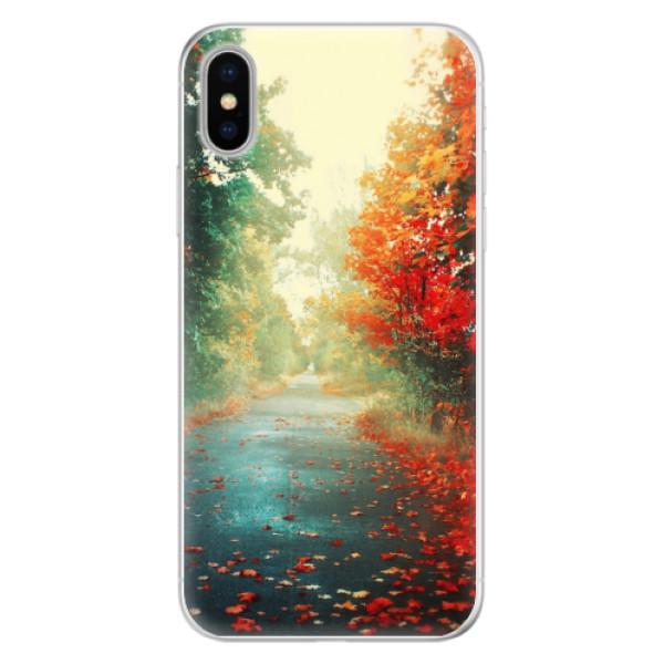 Silikonové pouzdro iSaprio - Autumn 03 - iPhone X