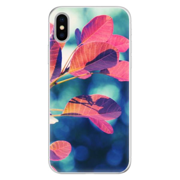 Silikonové pouzdro iSaprio - Autumn 01 - iPhone X